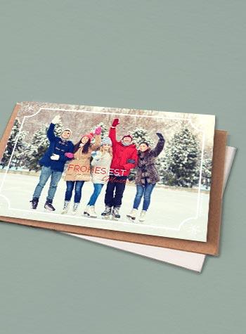 Magnetische Weihnachtskarten