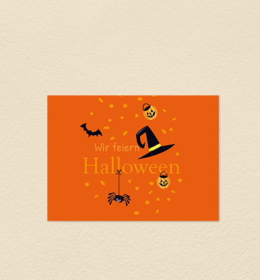 Halloweenkarten
